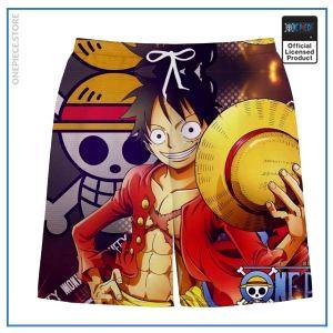 One Piece Swim Short  Luffy OP1505 S Official One Piece Merch