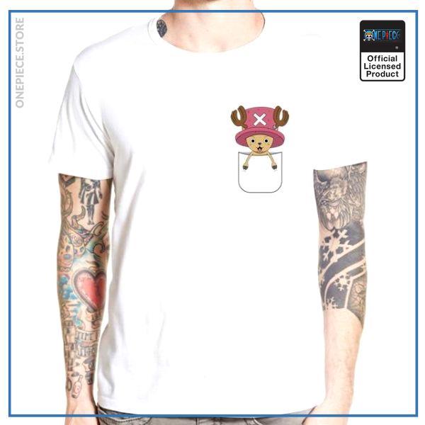 One Piece Shirt  Small Chopper OP1505 S Official One Piece Merch