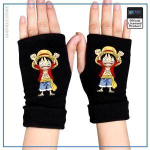 One Piece Gloves  Chibi Luffy OP1505 Default Title Official One Piece Merch