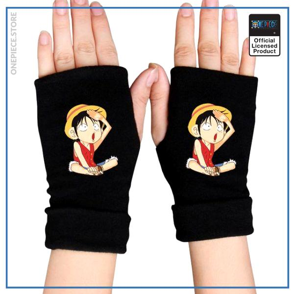 One Piece Gloves  Funny Luffy OP1505 Default Title Official One Piece Merch