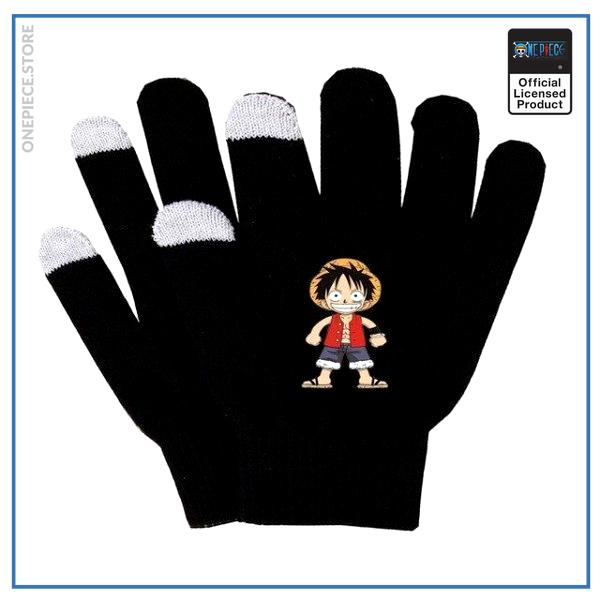 One Piece Gloves  Cute Straw Hat Emblem OP1505 Default Title Official One Piece Merch