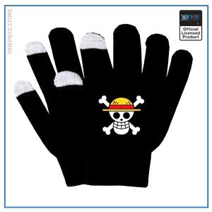 One Piece Gloves  Straw Hat Jolly Roger OP1505 Default Title Official One Piece Merch
