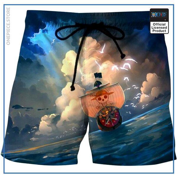 One Piece Swim Short  Thousand Sunny OP1505 S Official One Piece Merch