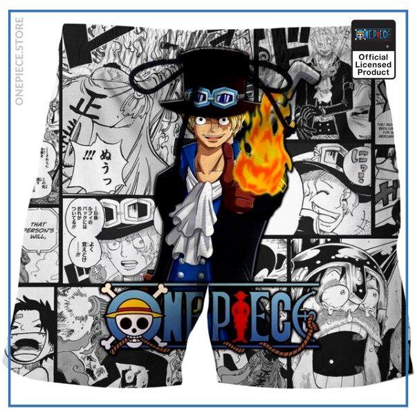 One Piece Swim Short  Sabo OP1505 S Official One Piece Merch