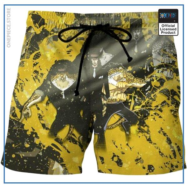 One Piece Swim Short  Rob Lucci OP1505 S Official One Piece Merch