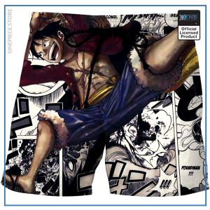 One Piece Swim Short  Monkey D. Luffy OP1505 S Official One Piece Merch