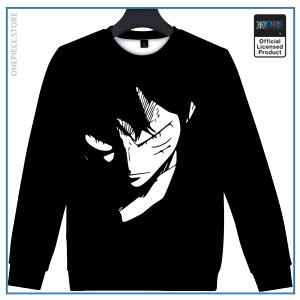 One Piece Sweater  Serious Luffy OP1505 S Official One Piece Merch