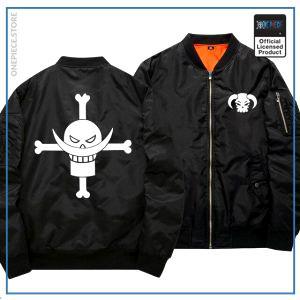 One Piece Bomber Jacket  Whitebeard (Black) OP1505 S Official One Piece Merch