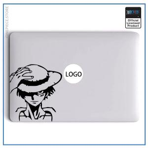 One Piece Laptop Sticker  Luffy OP1505 Air 11 inch / Black Official One Piece Merch