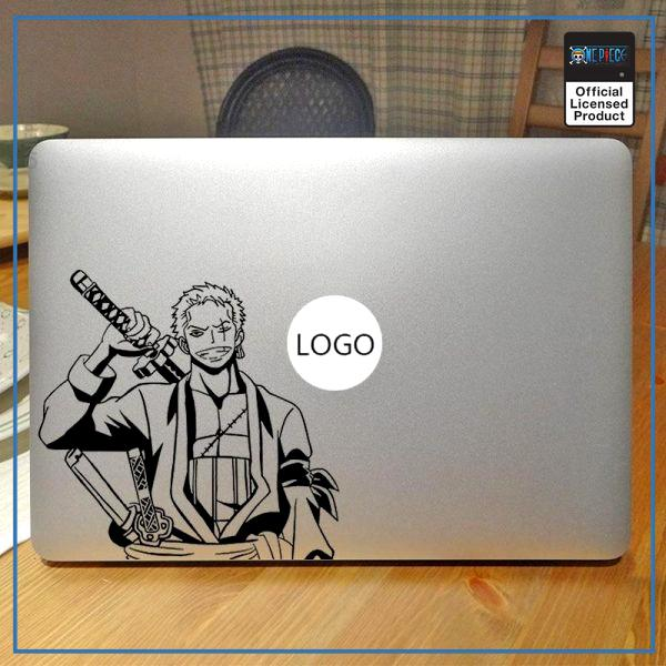 One Piece Laptop Sticker  Roronoa Zoro OP1505 For Retina 12 inch / Black Official One Piece Merch