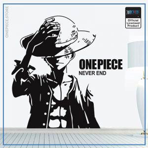 One Piece Wall Sticker  Monkey D Luffy OP1505 61 x 59 cm Official One Piece Merch