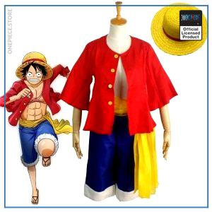 One Piece Costume  Luffy Costume OP1505 S Official One Piece Merch