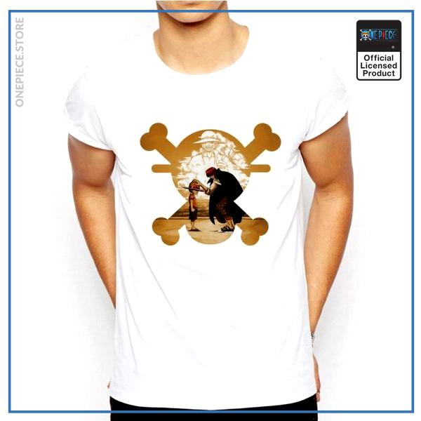 One Piece Shirt  Shanks & Luffy & Roger OP1505 S Official One Piece Merch