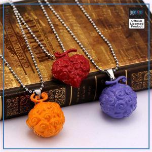 One Piece Necklace  Devil Fruits OP1505 Mera Mera no Mi Official One Piece Merch