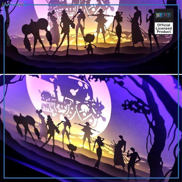 Black Wooden Frame Official One Piece Merch