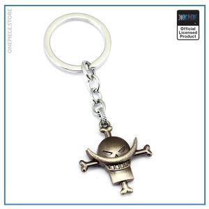 One Piece Keychain  Whitebeard OP1505 Default Title Official One Piece Merch