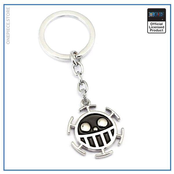 One Piece Keychain  Heart Pirates (Black) OP1505 Default Title Official One Piece Merch