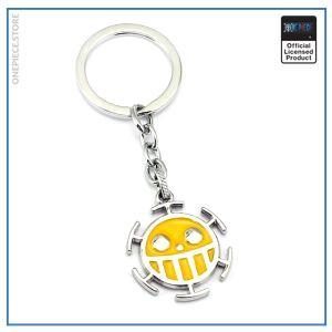 One Piece Keychain  Heart Pirates (Gold) OP1505 Default Title Official One Piece Merch