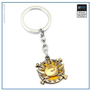 One Piece Keychain  Thousand Sunny OP1505 Default Title Official One Piece Merch