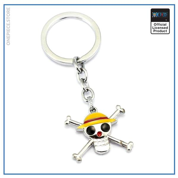 One Piece Keychain  Straw Hat Pirates OP1505 Default Title Official One Piece Merch