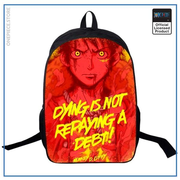 One Piece Backpack  Luffy OP1505 Default Title Official One Piece Merch
