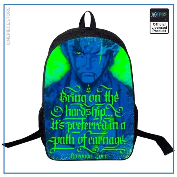 One Piece Backpack  Zoro OP1505 Default Title Official One Piece Merch