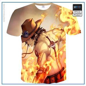 One Piece Shirt  Ace OP1505 S Official One Piece Merch
