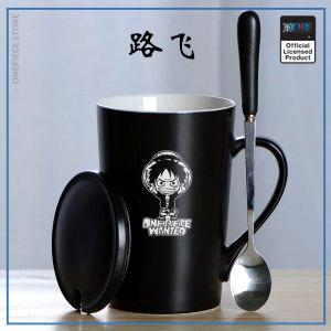 One Piece Mug Cup  Chibi Luffy Coffee OP1505 Default Title Official One Piece Merch