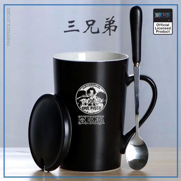 One Piece Mug Cup  Luffy & Ace & Sabo Coffee OP1505 Default Title Official One Piece Merch