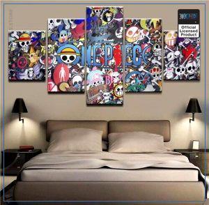 One Piece Wall Art  ONE PIECE OP1505 Medium / No Frame Official One Piece Merch
