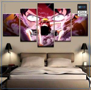 One Piece Wall Art  Gear 2 OP1505 Medium / No Frame Official One Piece Merch