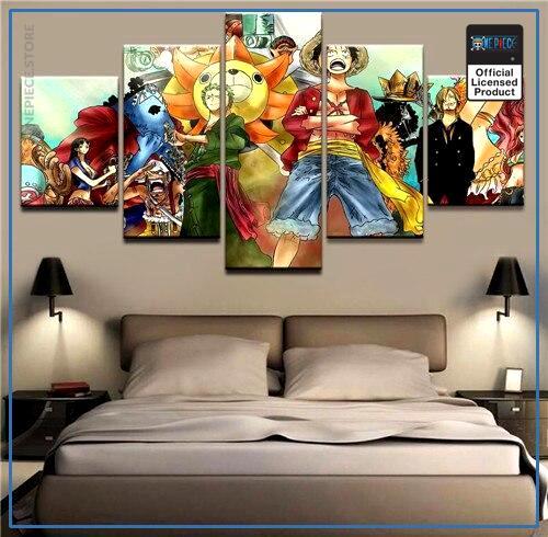 One Piece Wall Art  Fishman Island OP1505 Medium / No Frame Official One Piece Merch