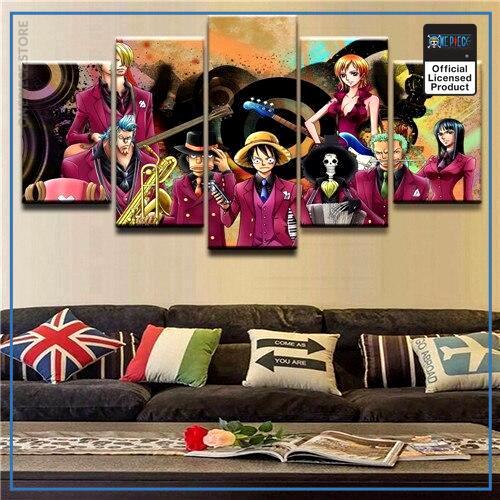 One Piece Wall Art  Strong World Movie OP1505 Medium / No Frame Official One Piece Merch