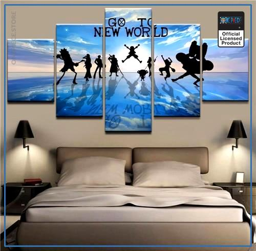 One Piece Wall Art  Go to the New World OP1505 Medium / No Frame Official One Piece Merch