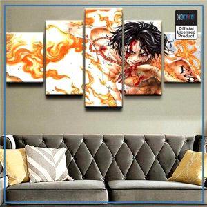 One Piece Wall Art  Fire Fist Ace OP1505 Medium / No Frame Official One Piece Merch