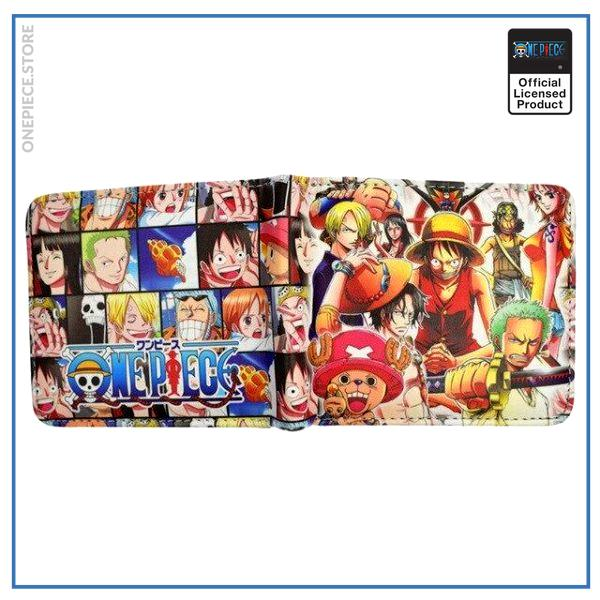 One Piece Wallet  Straw Hat Pirates OP1505 Default Title Official One Piece Merch
