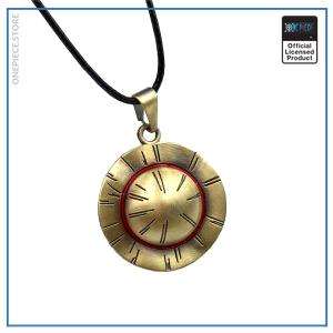 One Piece Necklace  Straw Hat Luffy OP1505 Default Title Official One Piece Merch
