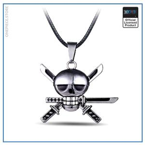 One Piece Necklace  Zoro Jolly Roger OP1505 Default Title Official One Piece Merch