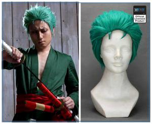 One Piece Costume  Zoro Wig Hair OP1505 Default Title Official One Piece Merch