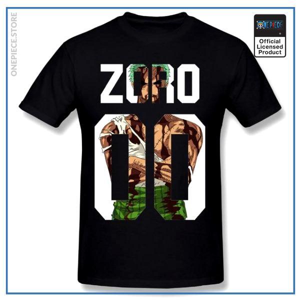 One Piece Shirt  Zoro Thriller Bark OP1505 Black / S Official One Piece Merch