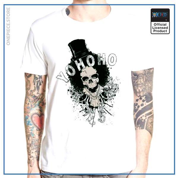 One Piece Shirt  Brook YOHOHO OP1505 S Official One Piece Merch