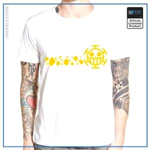 One Piece Shirt  Heart Pirates (Yellow) OP1505 S Official One Piece Merch