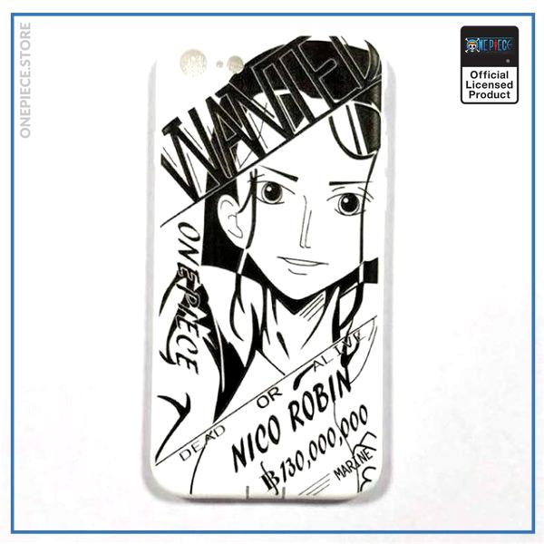 One Piece iPhone Case  Robin Wanted OP1505 For iPhone 6 Official One Piece Merch