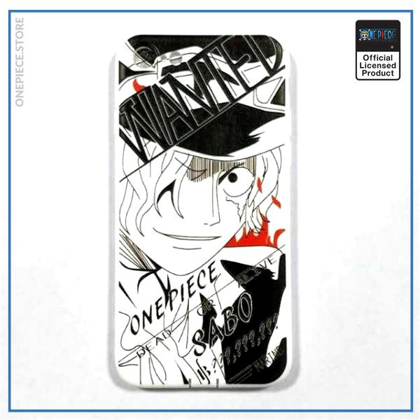 One Piece iPhone Case  Sabo Wanted OP1505 For iPhone 6 Official One Piece Merch