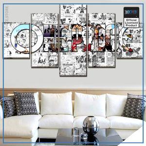 One Piece Wall Art  Logo OP1505 Small / No Framed Official One Piece Merch