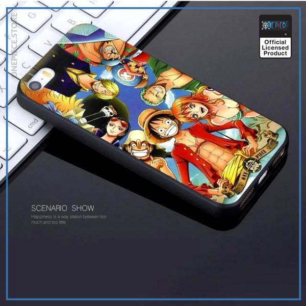 One Piece iPhone Case  Straw Hat Pirates OP1505 For iPhone 5 5S SE Official One Piece Merch