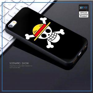 One Piece iPhone Case  Straw Hat Pirates Jolly Roger OP1505 For iPhone 5 5S SE Official One Piece Merch