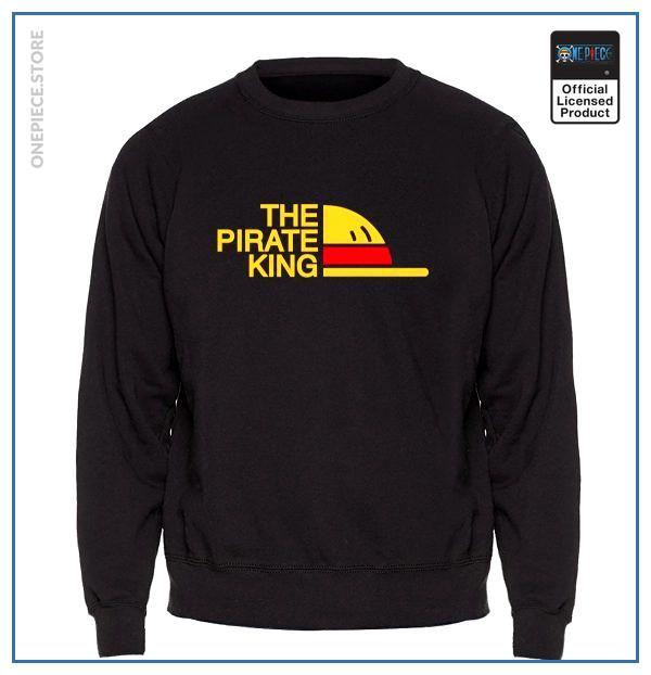 One Piece Sweater  Mugiwara Pirates OP1505 Black / S Official One Piece Merch