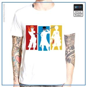 One Piece Shirt  The 3 Brothers OP1505 S Official One Piece Merch
