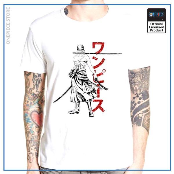 One Piece Shirt  Roronoa Zoro OP1505 S Official One Piece Merch